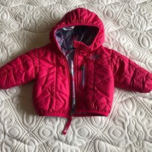 Barely used fuschia/ hot pink light jacket.